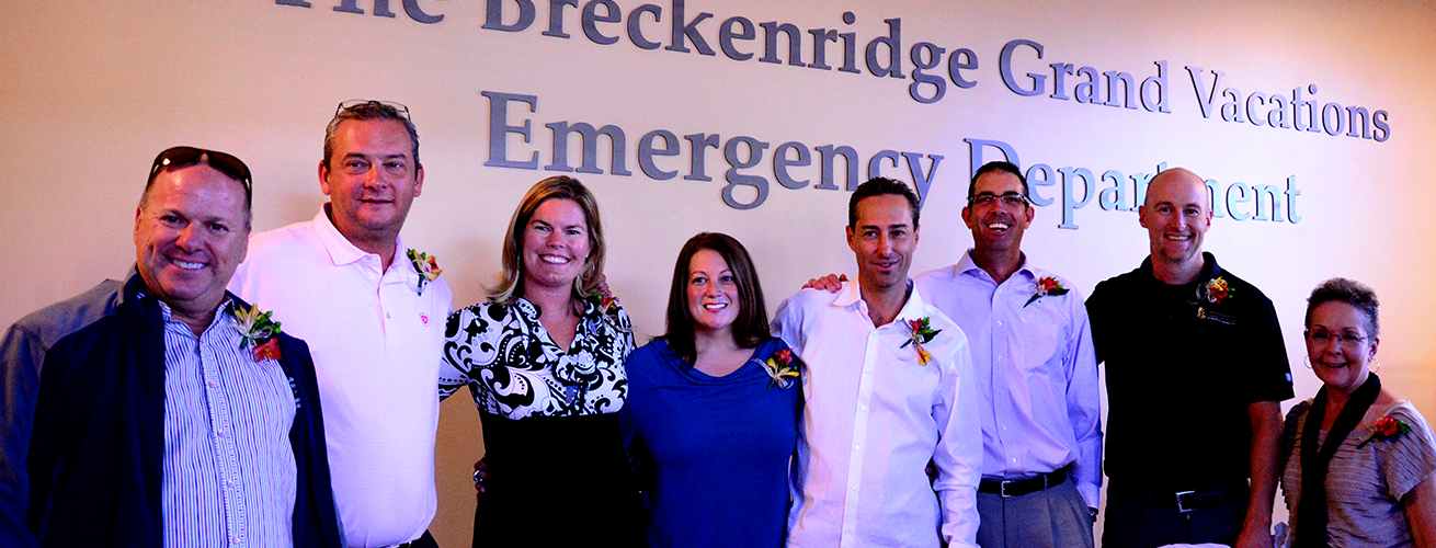 BGV Executive Team at the St Anthony's ER check presentation