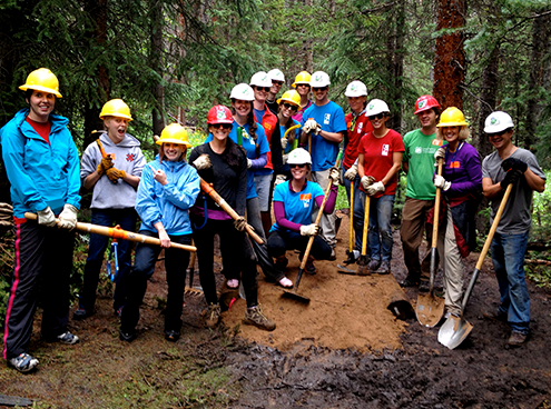 Friends of the Dillon Ranger District Trail Restoration