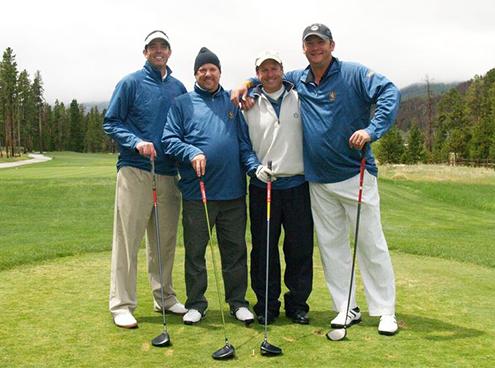 Golf tournament team