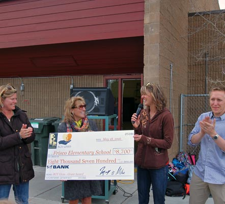 Grant for Frisco Elementary School 2016