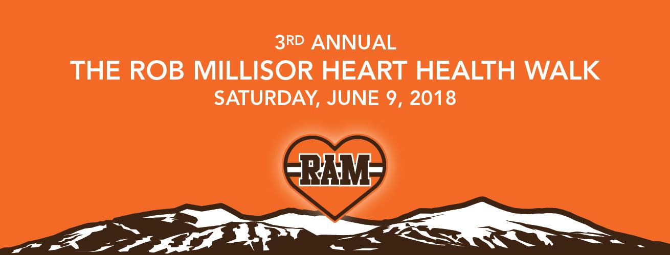 The Rob Millisor Heart Health Walk